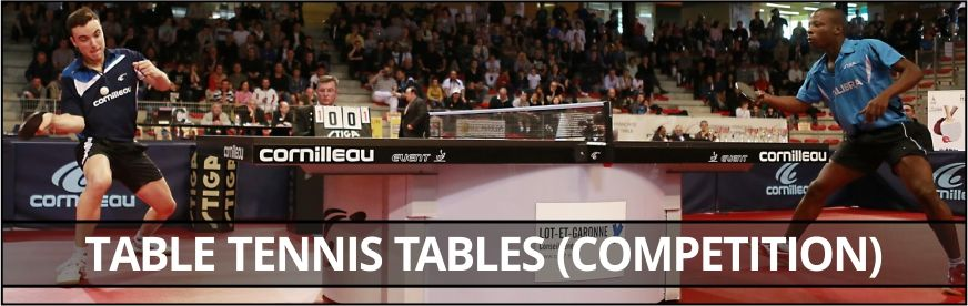 Table tennis tables (Competition)