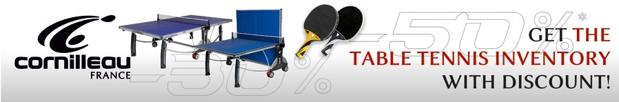 Cornilleau Table Tennis Inventory Winter Sale!