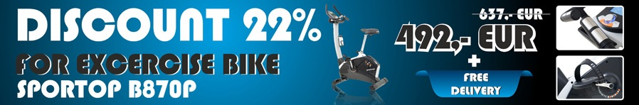 Sportop Excercise Bike -22%